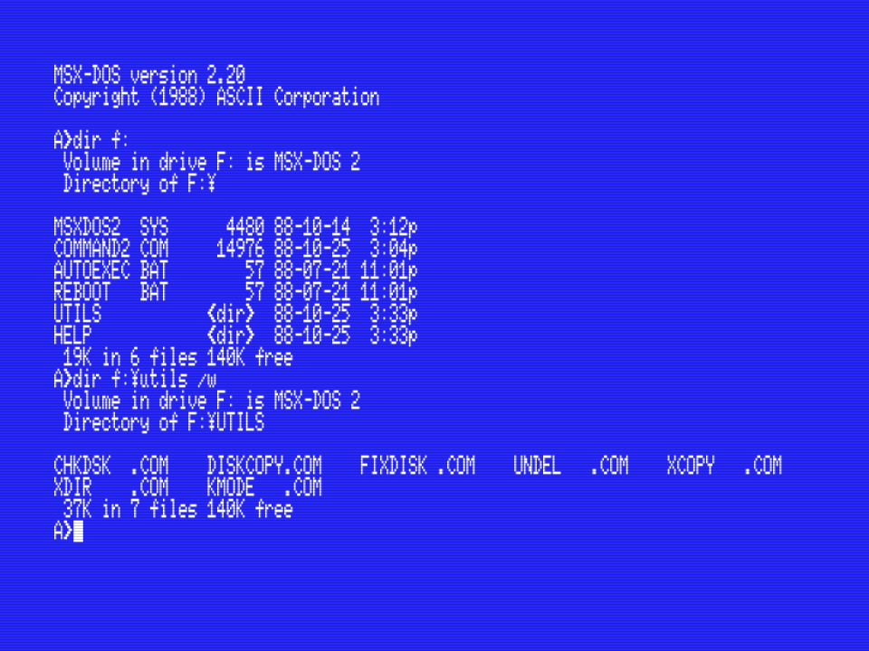 MSX Center - Relearning MSX-C - Setting up the MSX-C